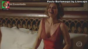 Paula Burlamaqui sensual em vários trabalhos
