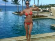 Eva Amurri in a Bikini at Her Honeymoon on November 6, 2011