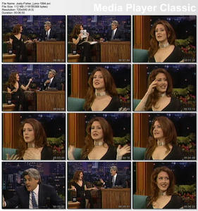 "Joely Fisher on ""The Tonight Show"" with Jay Leno in 1994"