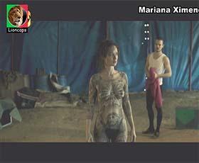 Mariana Ximenes nua no filme O Grande Circo Mistico