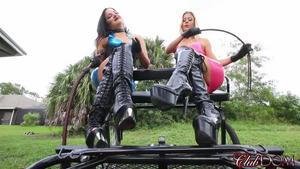 Club Dom: Alexis Fawx & Michelle Lacy POV