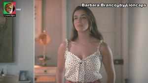 Barbara Branco sensual na novela Na Corda Bamba