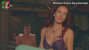 Helena Costa sensual em vários momentos