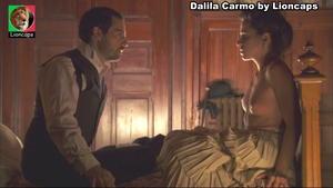 Dalila Carmo nua na serie Equador