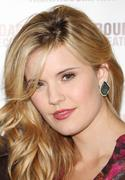 Maggie Grace - Picnic cast photo call and meet & greet in NY 11/29/12