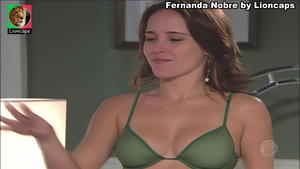 Fernanda Nobre sensual na novela Caminhos do Coração