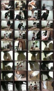 Japan Trample And Footjob JAV Femdom
