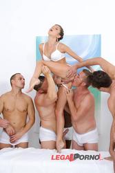 [LegalPorno] [Gonzo] 10 man anal gangbang for Gina Gerson SZ993