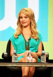 Бритт Робертсон, фото 130. Britt Robertson 2011 Summer TCA - The Secret Circle panel in Beverly Hills - August 4 2011, foto 130