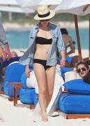 Michelle Williams & Busy Philipps - wearing bikinis in Cancun 01/02/12