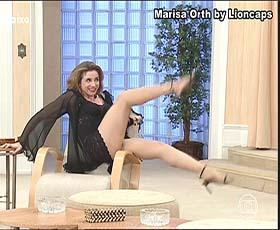 Marisa Orth sensual no Sai de Baixo