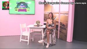 Maria Cerqueira Gomes sensual no Porto Canal